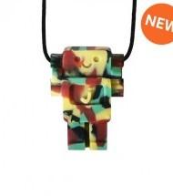 Robot Pendant - Chew Necklace