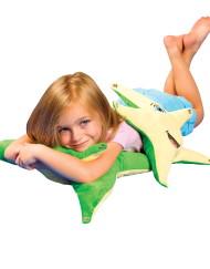 Smiling StarFish Pillow Set, Polyester, Set of 2