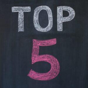 Top 5 sign