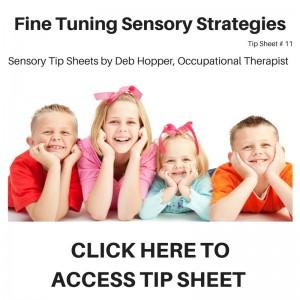 Fine Tuning Sensory Processing