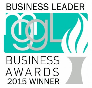 Debbie Hopper -Winner - Business Leader 2015