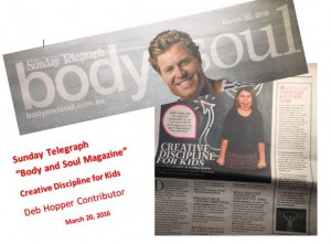 Body and Soul - Sunday Telegraph March 20 2016