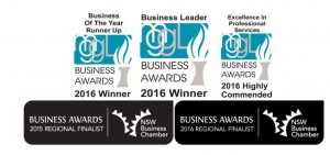 Deb Hopper and the Team picked up another suite of awards at this years Manning, Great Lakes and Gloucestor business awards.