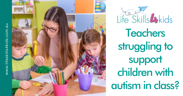 Teachers struggling to support children with autism in class?