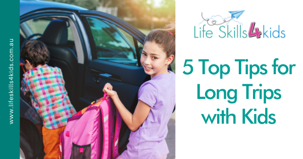 5 Top Tips for Long Trips with Kids