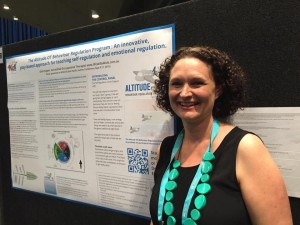 Deb Hopper presented a poster presentation on her Altitude Program and Just Right Kids Model