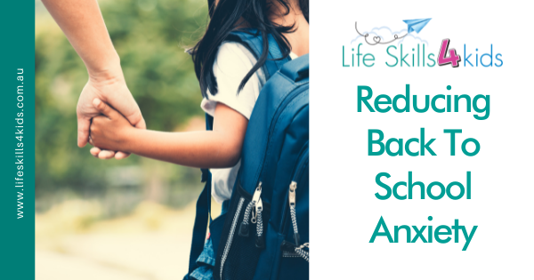 Reducing Back To School Anxiety