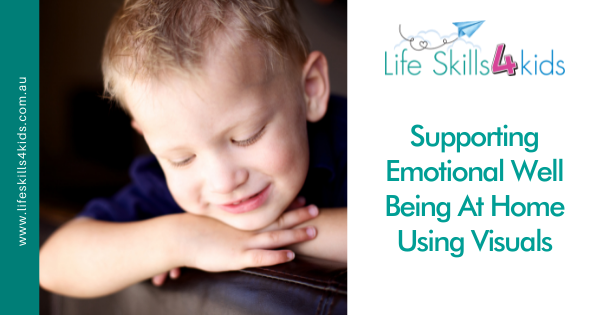 Supporting Emotional Well Being At Home Using Visuals
