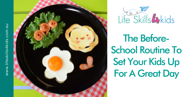 The Before-School Routine To Set Your Kids Up For A Great Day