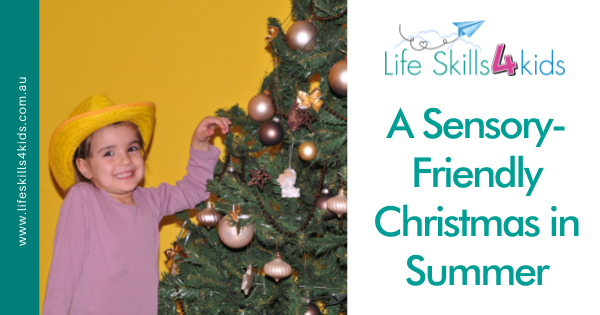 A Sensory-Friendly Christmas in Summer