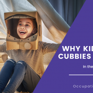 blog post on why kids build cubbies & forts