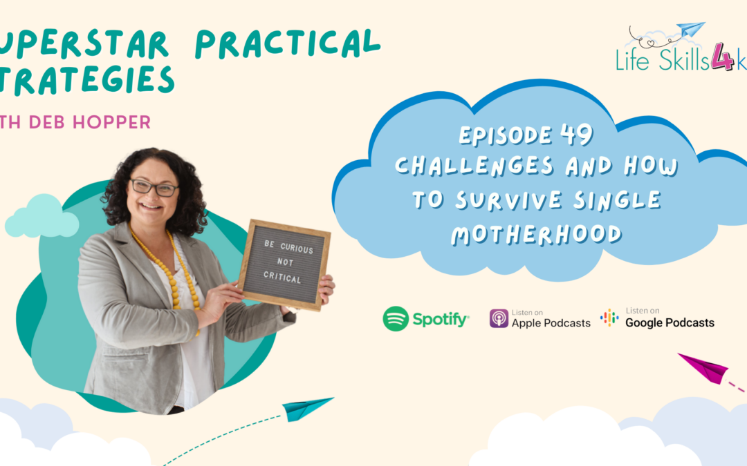 Challenges and How to Survive Single Motherhood | Ep 49